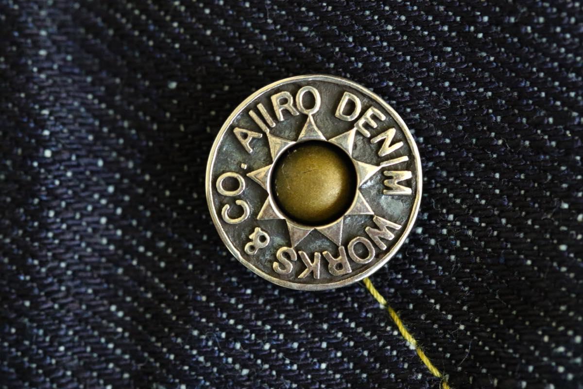 ジーンズのネオバボタン シルバー925