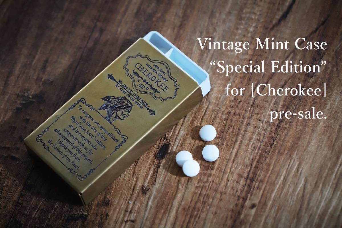 Vintage Mint Case Cherokee予約特典