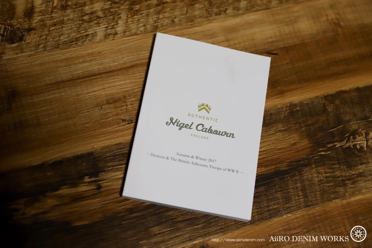 Nigel Cabourn カタログ