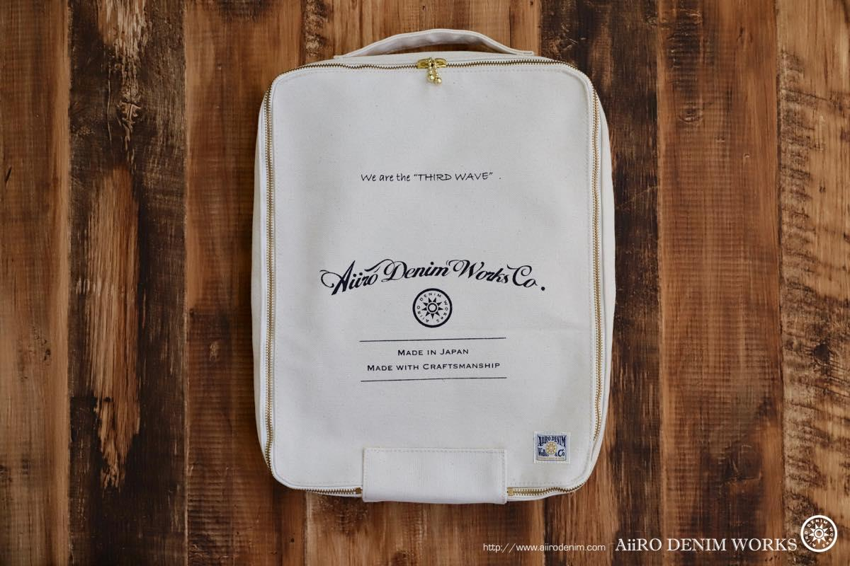 aiiro denim works heavy canvas bag